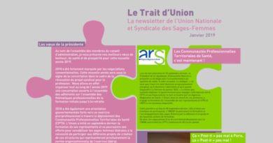 Le Trait d'Union – janvier 2019