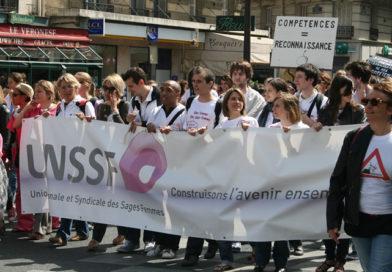 Appel à la grève des Sages-Femmes / mardi 26 janvier 2021